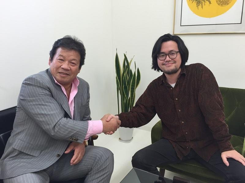 プロレスラー 藤波辰爾さんがK'sセラピールームに来てくれました!