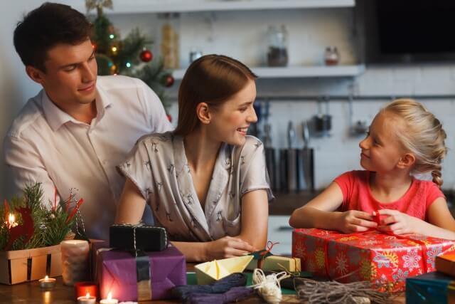 家族と過ごすクリスマス